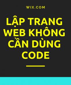 lap trang web khong can code