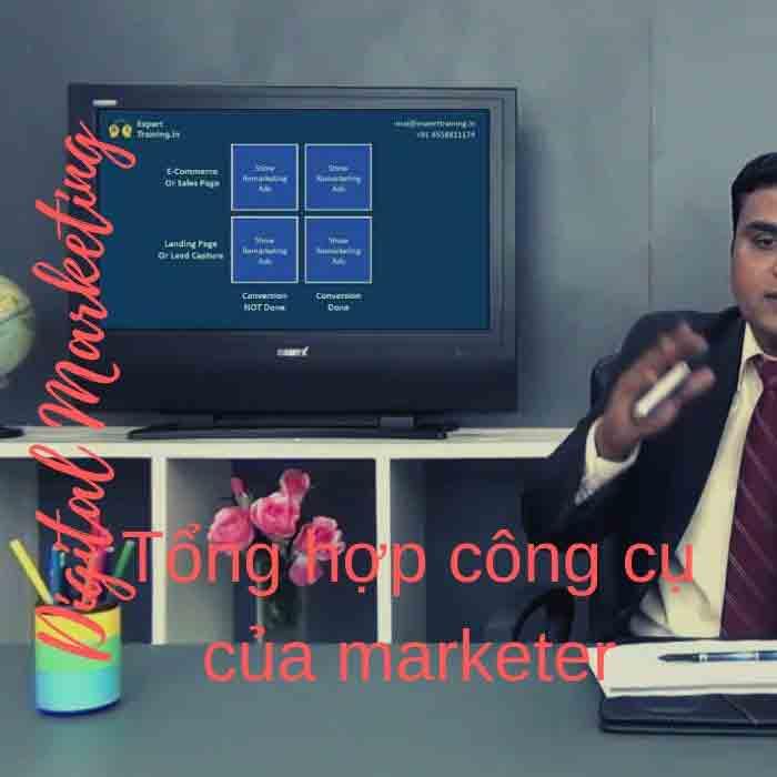 toidayhoc - Digital Marketing - Tổng hợp công cụ của marketer