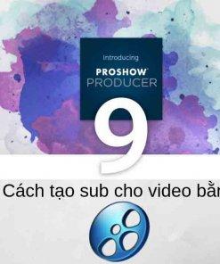 Cách tạo sub cho video