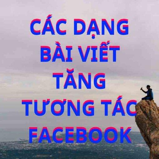 Các dạng bài viết facebook