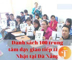 Danh sách 100 trung tâm dạy giao tiếp tiếng Nhật tại Đà Nẵng