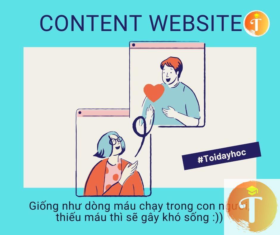 Nội dung Website là vũ khí chiến lược khi xây dựng website wordpress- toidayhoc